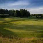 The 18th at Arlandastad Masters Course.