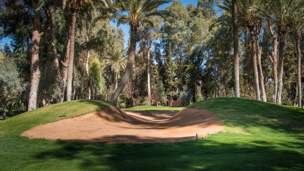 "The famously nicknamed ""Brigitte Bardot"" hole at Royal Marrakech."